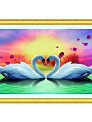 Little Swan есть взаимное сродство вышивки крестом