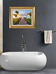 3d stickers muraux stickers muraux, marin bains décor murale PVC autocollants