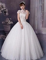 Ball Gown Wedding Dress Simply Sublime Floor-length High Neck Tulle with