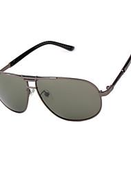 lunettes de soleil aviateur de conduite des hommes polarisés