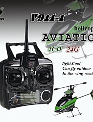 WL V911-1 4CH 24Ghz RC Micro Single-rotor Helicopte