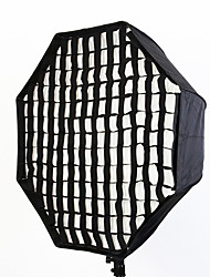 80cm/32in Octagon Softbox with Grid Selens Umbrella Reflector Soapbox For SpeedLight/Flash