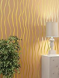 10m*0.53m 3D Pile Coating Thickening Wallpaper Non-woven Fabrics Wallpaper Breathe Freely  Environmentally Friendly Z17