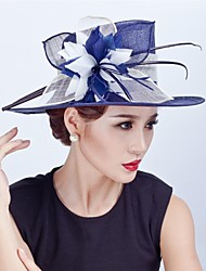 Women Wedding Party Sinamay Feather Fascinators Hats SFC9136