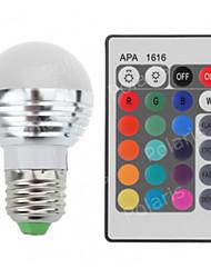 1pcs RGB LED Lamp AC220-240V 5W E27 LED 16 Color Bulb Changeable Lamp Multiple Colour with Remote Control LED Lighting