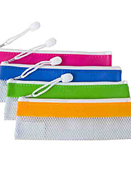 5834 Transparent PVC Pen Bag(5Pcs)