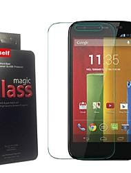 para Motorola MOTO g protector de pantalla - Protector de pantalla de cristal templado Motorola MOTO g prima verdadera