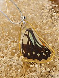 papillon effect®real veiné jay papillon colliers seule victoire pour les dames printemps Fation