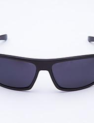 anti-nevoeiro plástico retângulo de moda óculos esportivos de ciclismo dos homens