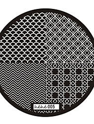 Nail Art Stamp Stamping Image Template Plate hehe Series NO.5
