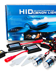 12V 55W H7 AC Hid Xenon Kit de conversion 10000K