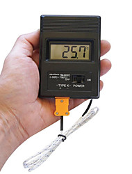 "Portable 2"" Screen Digital LCD Thermometer Thermodetector Meter -50°C-1300°C  (1 x 9V Battery)"