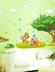 piccolo albero smontabile e portare modello soggiorno / autoadesivo della parete camera da letto