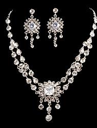 Bergkristal Dames Sieraden set
