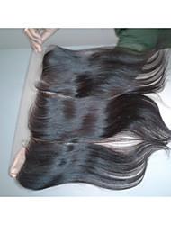 """13 """"x4"""" vierge de dentelle de cheveux péruvien frontale 14inch partie libre cheveu humain naturel frontale droite 1pc"""