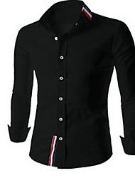 la causalité de jay correspondre à tous les hommes chemise de couleur solide