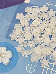 Jóias de Unhas - Flôr/Casamento - para Dedo - de Plástico/Outro - com 10 - 7X4X0.5 - (cm)