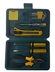 Family Potable 11PCS Pliers Tool Set Box