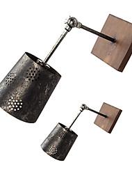 Metal - Candelabro de pared Moderno/ Contemporáneo