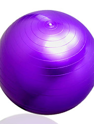 Women's Anti-explosion Extrude Blue Pink Purple Yoga Ball 75CM