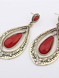 Sando Women's Retro Hot Sellign Rhinestone Water Drop Earrings