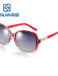 lunettes de soleil surdimensionnées Senlan conduite des femmes polarisées 9505