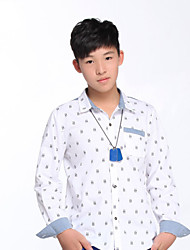 OFFSIDE®2015 Fashion Design Name Brand Spring/Fall 100% Cotton Long Sleeve Boys Shirt