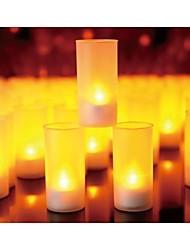 Wedding Décor Voice Blow Sensitive Candle Design LED Night Light Home Party  Decoration