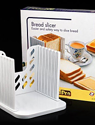 Bread Toast Sandwich Slicer Cutter Mold Maker Kitchen Guide Slicing Tools  16*16*2cm