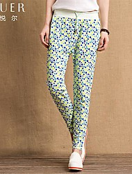 EYUER Women's Clothing The spring and Autumn period and the new cotton casual trousers