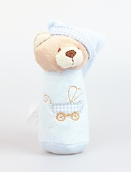 Fly By Fly- Cute Hat Baby Bear Hand Rods Soft Toy