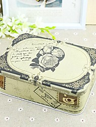 1 Piece/Set Favor Holder - Cuboid Metal Gift Boxes/Favor Tins and Pails Non-personalised