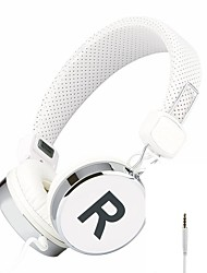 headphones Wired Headphones (Headband) With Microphone/DJ/Volume Control/Hi-Fi/Monitoring forMedia Player/Tablet/Mobile