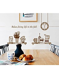 Wall Stickers Wall Decals, Style Creative Kitchen PVC Wall Stickers