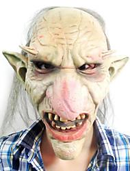 duendes con gran nariz y oídos máscara de látex para la fiesta de halloween