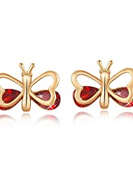 Women's Fashion Delicate Butterfly Stud Earrings(More Colors)