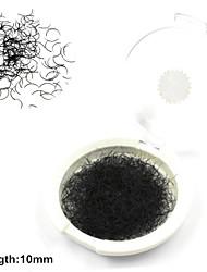 1 Cílios Pestana Cílios Individuais Pestana Confeccionada à Mão Fibra
