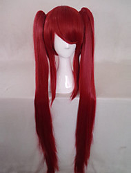 Cosplay Wigs Cosplay Cosplay Red Long Anime Cosplay Wigs 100 CM Heat Resistant Fiber Female