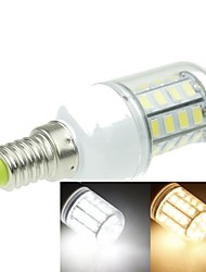 E14 7W 40x5630SMD 1600LM 3500K 6000K Warm White/Cool White Decorative Corn Bulbs   AC220-240V