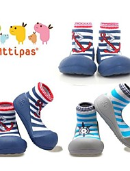 Attipas Super Lightweight Baby Boys Infant Shoes Anti-slide First Walker Striped Marin Aseries Toddler Shoes No-toxic