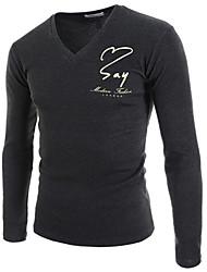 svago degli uomini a maniche lunghe slim fit t-shirt k3b23