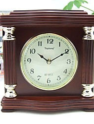 Modern/Retro/Home/Office/ Solid Wood/Tablel Clock/Desk Clock/Home Decoration/Japan Seiko Movement