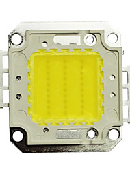 JIAWEN® 30W 2400-2700LM 6000K Cold White LED Chip (DC 30-33V)