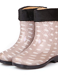 Women's Shoes Rubber Low Heel Platform/Rain Boots/Round Toe Boots Casual More Colors available