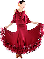Ballroom Dance Dancewear Women's Elegant Ballroom Dance Dress(More Colors)