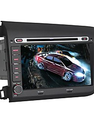 "Car DVD Player Android4.4 2 Din 8"" touch screen for Honda Civic 2012-2013"