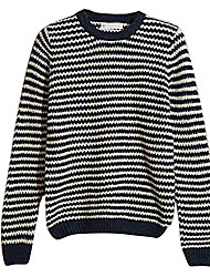 Men's Fashion Leisure Japanese Striped Sweater Leisure Clothing Line