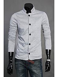 wecool мужская мода с длинным рукавом трикотаж