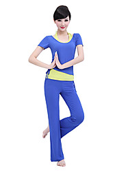 tapas de yoga de la aptitud de las mujeres yiduolian con almohadillas