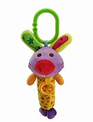 Babyfans ™ Stuffed Cartoon Animal Cute Rabbit Baby Soft Rattle Toys